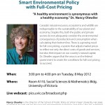 Smart Environmental Policy with Full-Cost Pricing