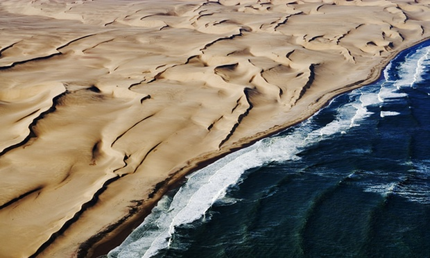 he Nambia sand sea, one of the world heritage sites listed as at risk from oil and gas exploration or mining by the WWF. Photograph: Martin Harvey / Alamy/Alamy