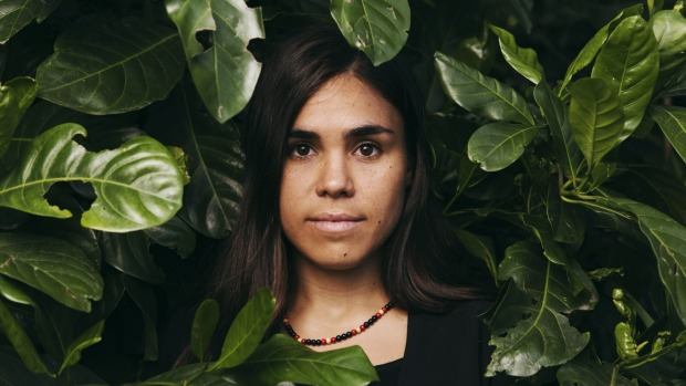 Amelia Telford, a Bundjalung woman from Tweed Heads, is the Young Conservationist of the Year. Photo: James Brickwood Read more: http://www.smh.com.au/environment/young-conservationist-of-the-year-amelia-telford-calls-for-the-energy-revolution-ahead-of-paris-climate-conference-20151028-gkl01j.html#ixzz3q0zNBASD  Follow us: @smh on Twitter | sydneymorningherald on Facebook