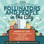 Pollinators and People in the City