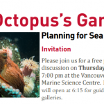 Free Public Talk: The Octopus's Garden? Planning for Sea Level Rise
