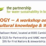 Blue Ecology: A Workshop on Interweaving First Nations Cultural Knowledge & Western Science