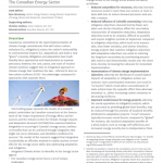 Briefing Paper: Integrating Adaptation and Mitigation in Canada's Energy Sector