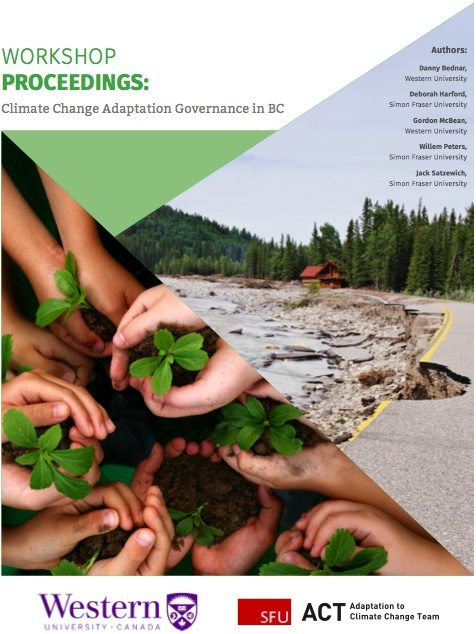 Climate Change Adaptation Governance in BC: Workshop Proceedings