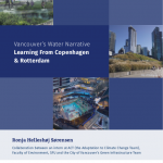 Vancouver's Water Narrative: Learning from Copenhagen and Rotterdam